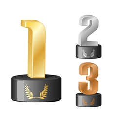 Trophy numbers vector