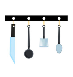abstract creative funny cartoon kitchen appliances vector image