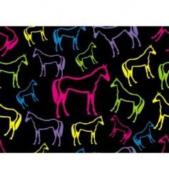 horse seamless vector image