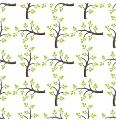 forest seamless isolated vector image vector image