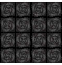 Design seamless black decorative pattern vector