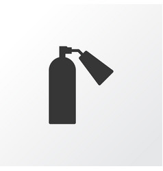 Extinguisher icon symbol premium quality isolated vector