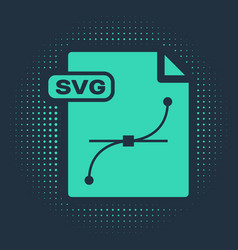 Green svg file document download svg button icon vector