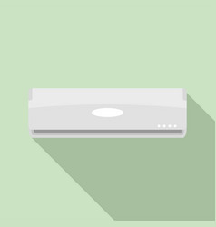House conditioner icon flat style vector