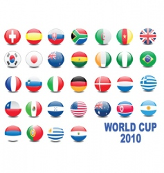 world cup balls vector image vector image