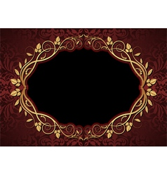 maroon and black background vector image