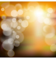 Blurry background with bokeh effect Abstract vector image