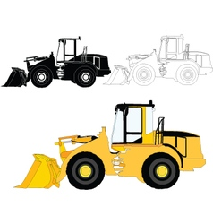 Construction machine - vector