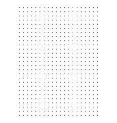 Dot grid paper graph vector