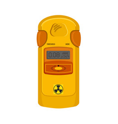 Geiger counter device to meter radiation nuclear vector