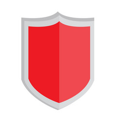 isolated heraldry shield icon vector image