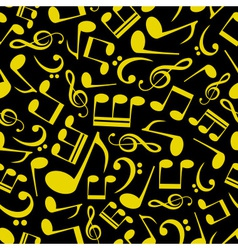Music note pattern eps10 vector