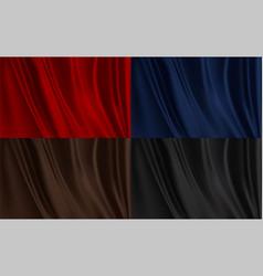 Silk fabric texture vector