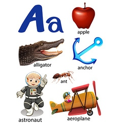 Things that start with the letter A vector