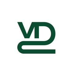 Vd2 logo vector