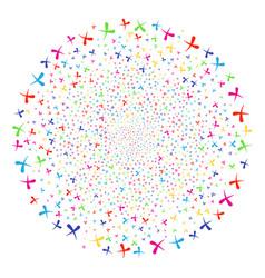 Erase exploding cluster vector