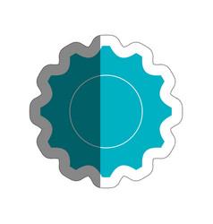 gear wheel icon vector image