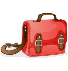 A red bag vector