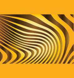 close up stripe animal pattern vector image