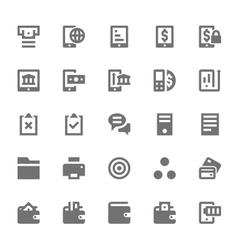 Finance Icons 11 vector