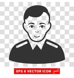 Officer EPS Icon vector