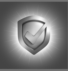 security shield symbol vector image