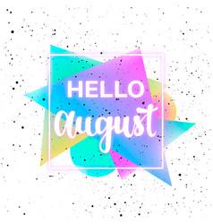 Summer memphis background vector