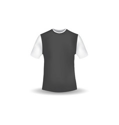 t shirt mockup design template vector image