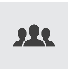 People group icon vector image