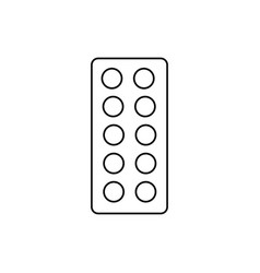 tablets icon vector image vector image