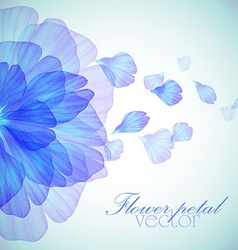 watercolor drawing vector image vector image