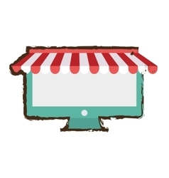 internet store shopping vector image