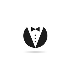 Butler gentleman icon vector
