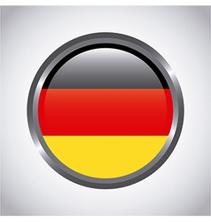 Germany button vector