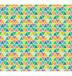 Mosaic seamless patterns in retro style vector image