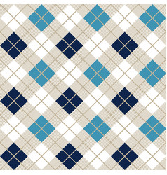 navy blue and light blue argyle harlequin seamless vector image
