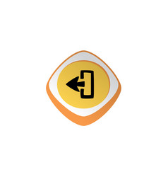 Power switch glossy color app icon button game vector