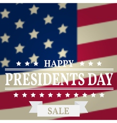 Presidents day sale day day vector