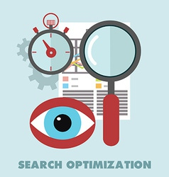 Search optimisation vector image