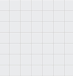 White tiles texture vector