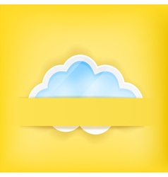 cloud background1A vector image