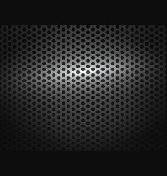 Black metal comb grate background vector