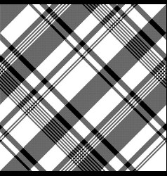 black white fabric texture pixel asymmetrical vector image