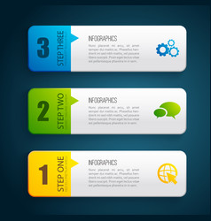 business design concept banners vector image