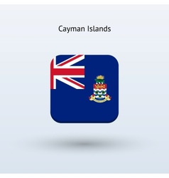 Cayman Islands flag icon vector