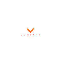color logo on which abstract image vector image