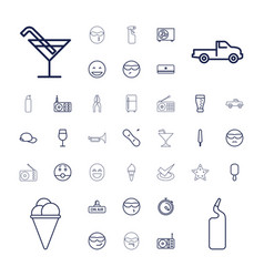 Cool icons vector