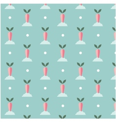 flat seamless patterns vector image
