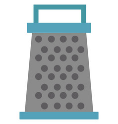 grater on white background vector image