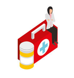 Medical healthcare related vector